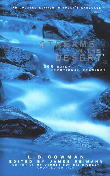 Streams In The Desert - Trade Paperback
