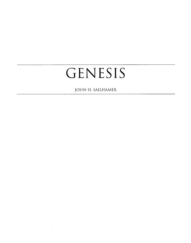Genesis-Leviticus, Revised: The Expositor's Bible Commentary