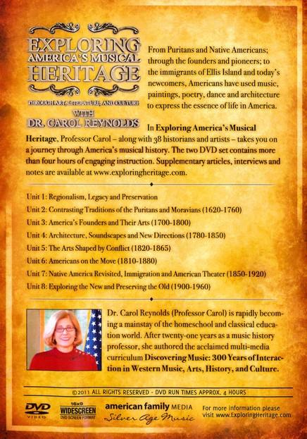 Exploring America's Musical Heritage Through Art, Literature, and Culture 2  DVD Set