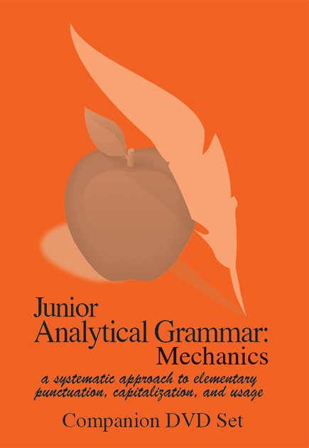 Junior Analytical Grammar Mechanics Companion DVD Set (2 DVDs)