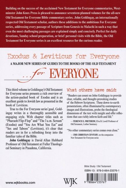 Exodus & Leviticus for Everyone (Old Testament for Everyone)