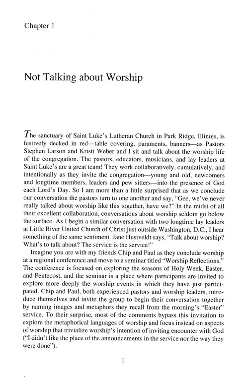 Worship Matters: A Study for Congregations
