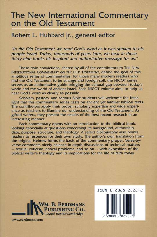 The Book of Leviticus: New International Commentary on the Old Testament [NICOT]