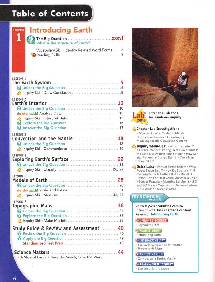 Interactive Science: Earth Science (Grade 6) Homeschool Bundle
