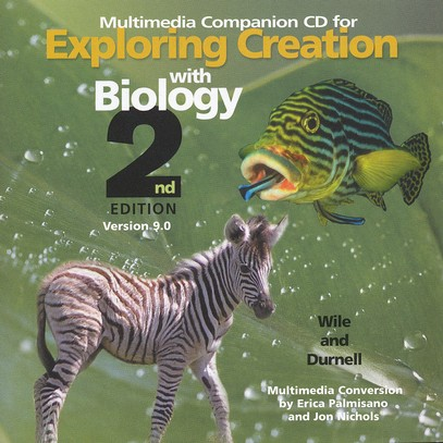 Exploring Creation with Biology, 2nd Edition, Companion CD, Version 9.0