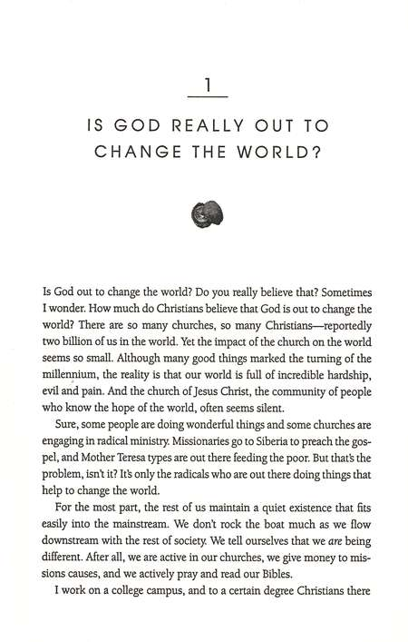 Kingdom Come: How Jesus Wants to Change the World