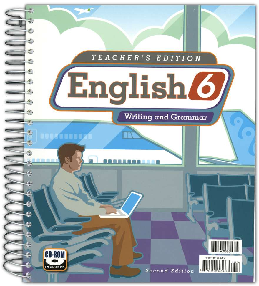 BJU English Grade 6 Homeschool Kit (Second Edition)