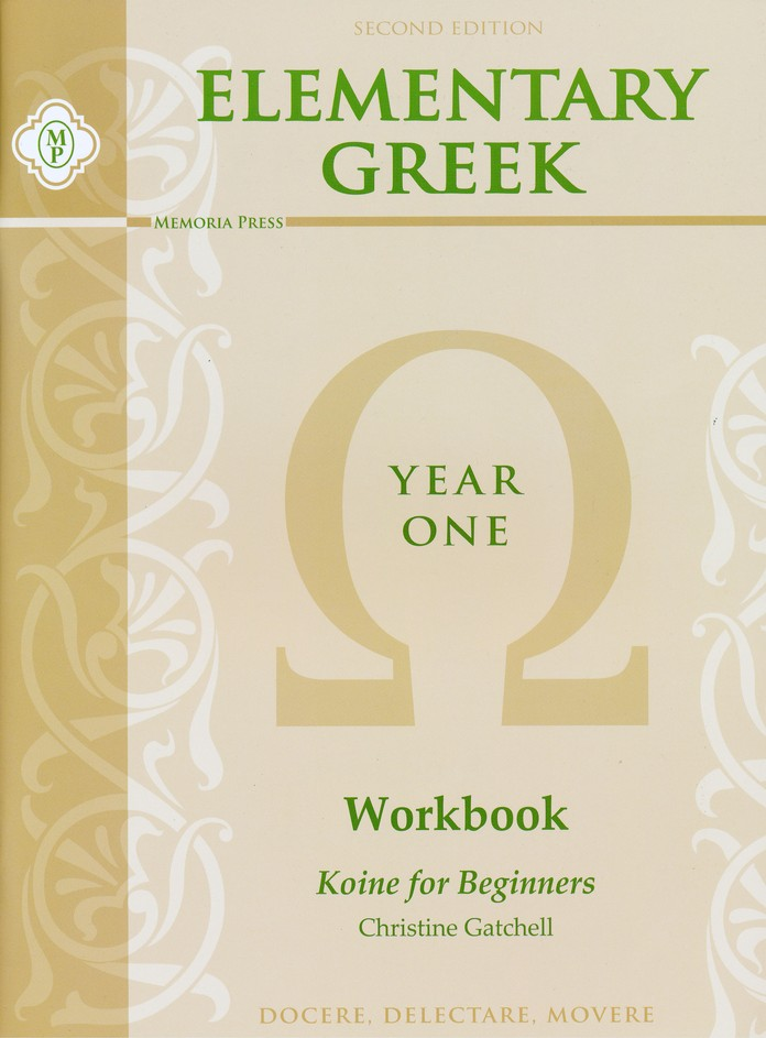 Elementary Greek, Year One Kit (without Teacher's Key & Test  s)