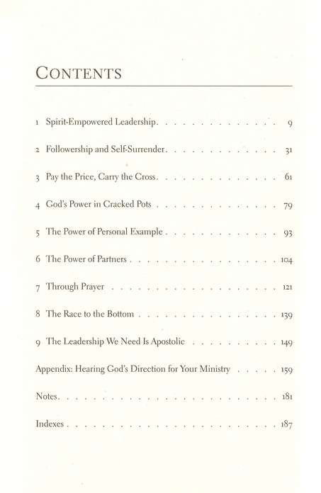 Empowered Church Leadership: Ministry in the Spirit According to Paul