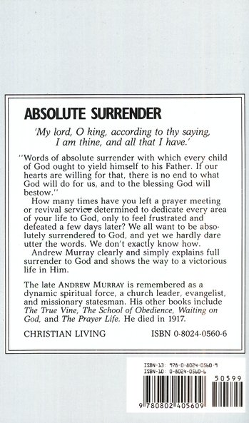 Absolute Surrender