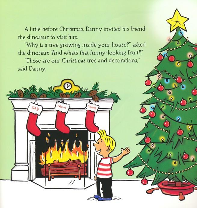 Dinosaur Christmas.Danny And The Dinosaur A Very Dino Christmas