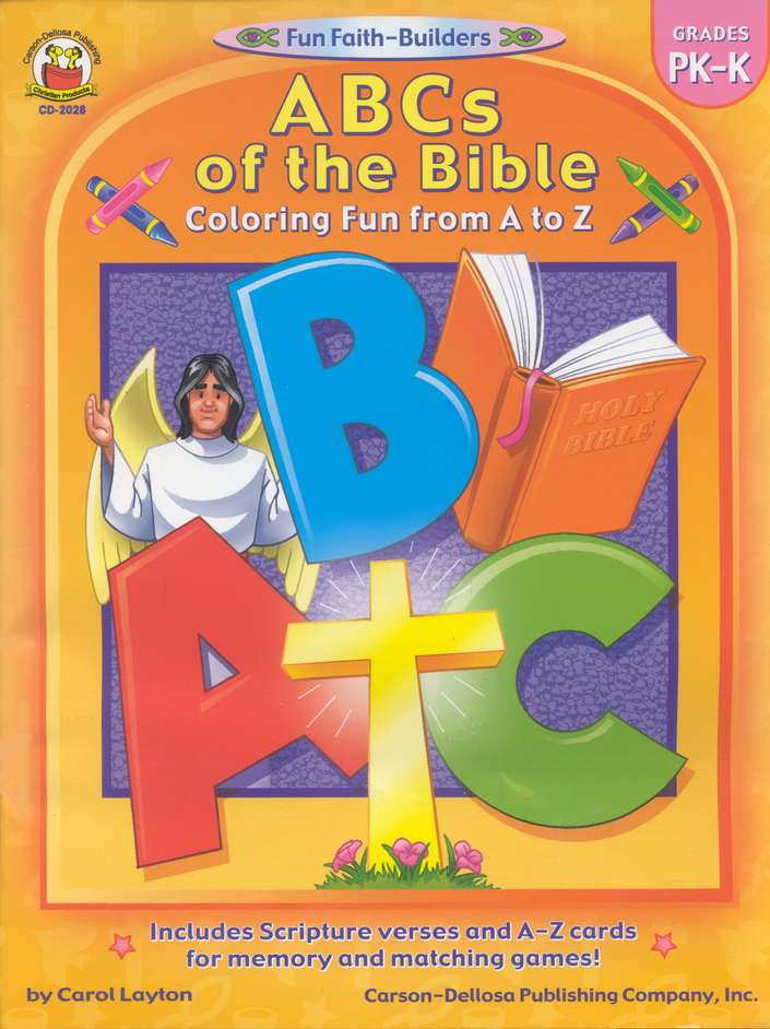 ABCs of the Bible Gr PK-K