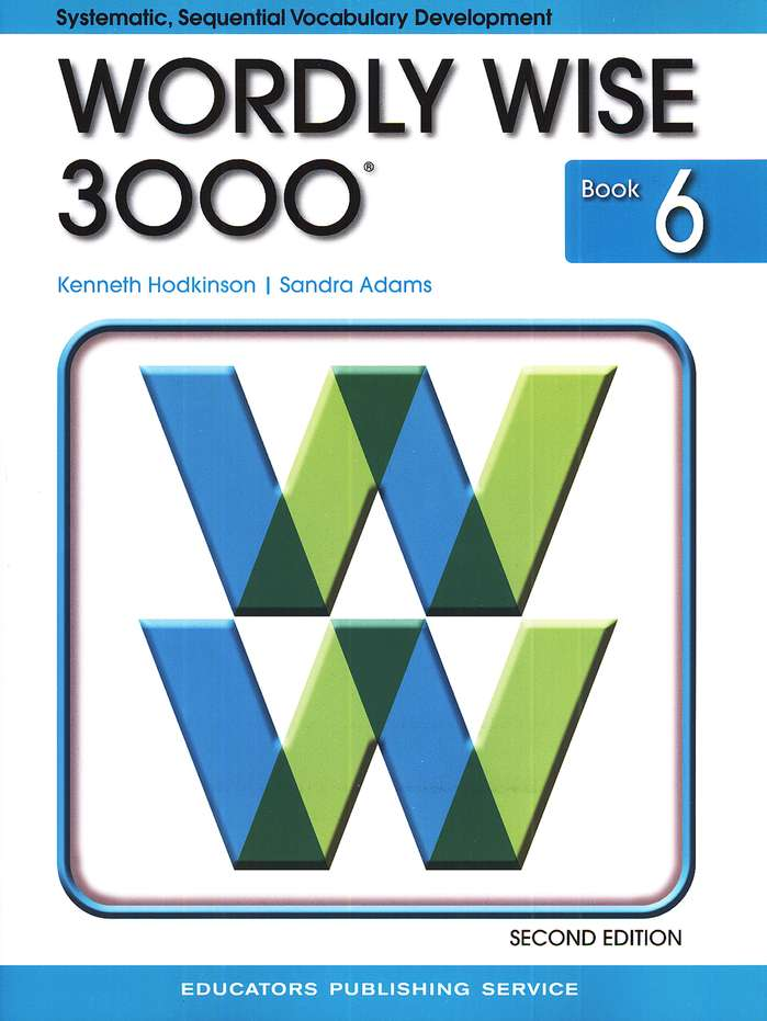 Wordly Wise 3000, Grade 6, 2nd Edition