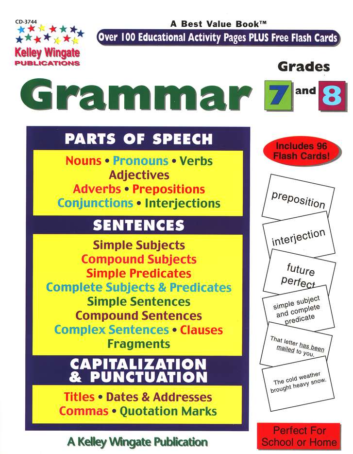 Grammar, Grades 7 and 8