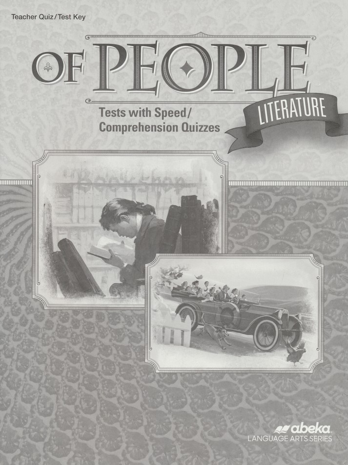 Abeka Grade 7 Of People: Literature Quizzes & Tests Key (5th Edition)