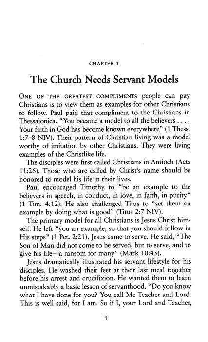 Deacons: Servant Models in the Church, Updated Edition