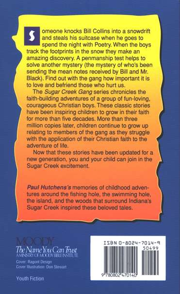 The Mystery Thief, Sugar Creek Gang Series #10