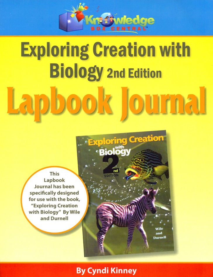 Apologia Exploring Creation With Biology 2nd Edition Lapbook Journal