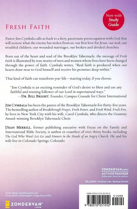 Fresh Faith Jim Cymbala Dean Merrill 9780310251552