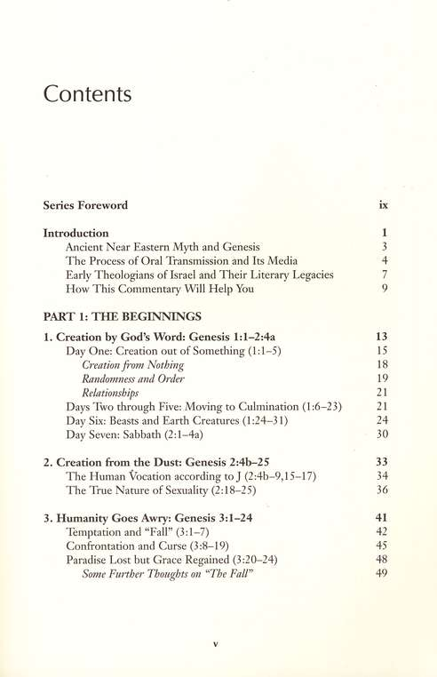 Westminster Bible Companion: Genesis