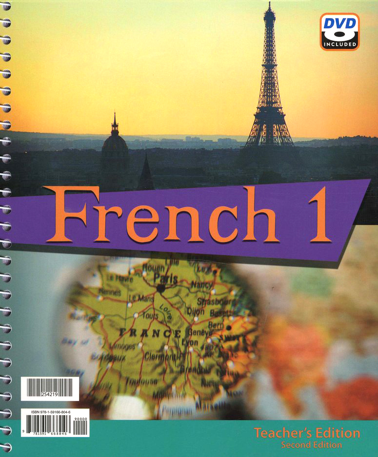 BJU French 1 Teacher's Edition with DVD (Second Edition)