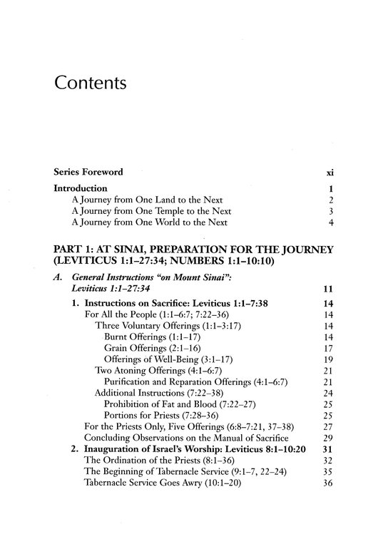 Westminster Bible Companion: Leviticus and Numbers