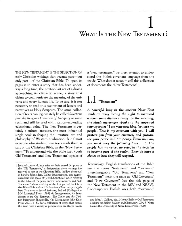 An Introduction to the New Testament: History, Literature, Theology