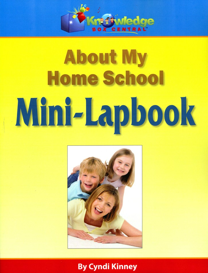About My Homeschool Mini-Lapbook (Printed Edition)
