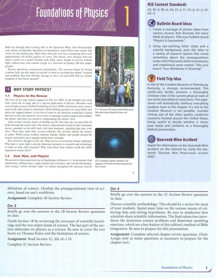 Bju Press Physics Grade 12 Teacher S Edition 3rd Edition 9781591669333 Christianbook Com