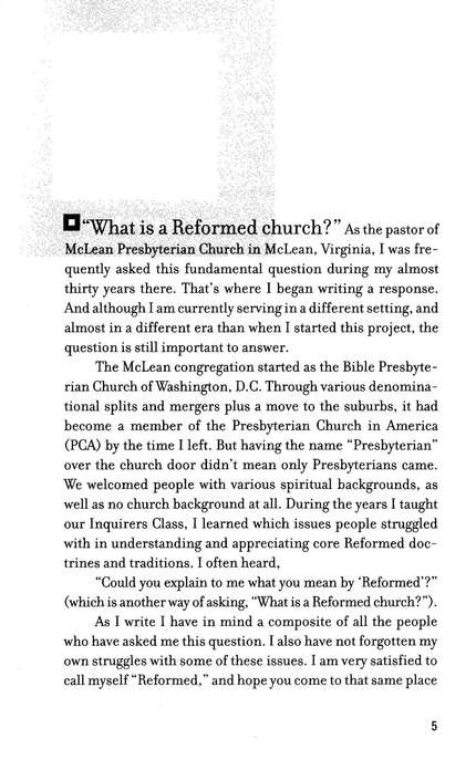 What Is a Reformed Church? (Basics of the Faith)
