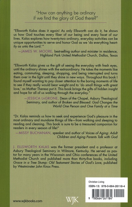 The Pleasure of God: Finding Grace in the Ordinary: J. Elsworth Kalas:  9780664261184 - Christianbook.com