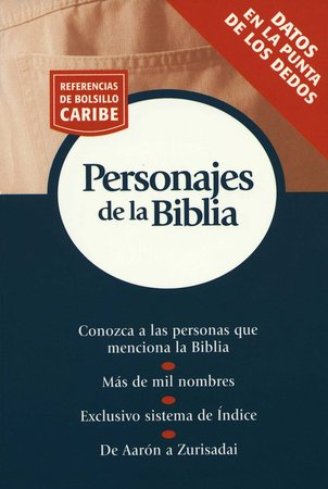 Referencias de Bolsillo Caribe: Personajes de la Biblia  (Nelson's Pocket Reference Series: Bible People)