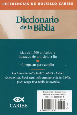 Referencias de Bolsillo Caribe: Diccionario de la Biblia  (Nelson's Pocket Reference Series: Bible Dictionary)