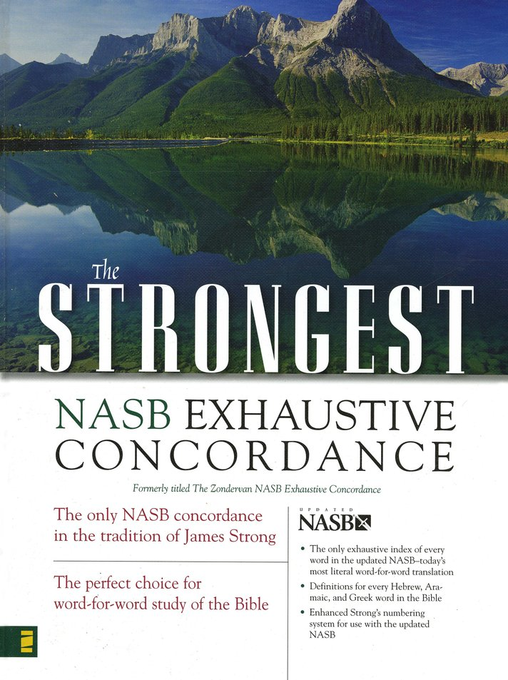 The Strongest NASB Exhaustive Concordance