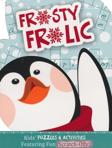 Frosty Frolic: Kids' Puzzles & Activities Featuring Fun Scratch-Offs!