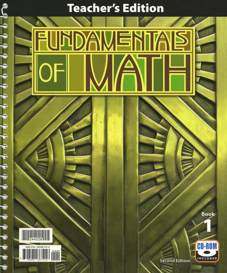 BJU Fundamentals of Math Grade 7 Homeschool Kit, Second Edition