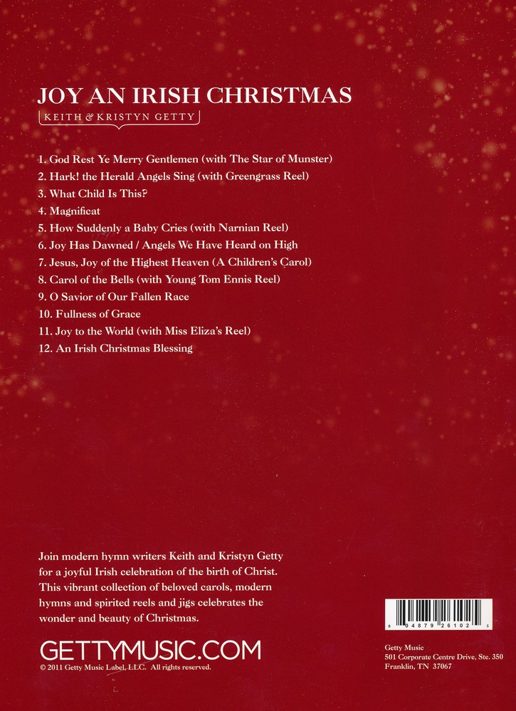 Joy: An Irish Christmas, Volume 1: Keith Getty, Kristyn Getty ...