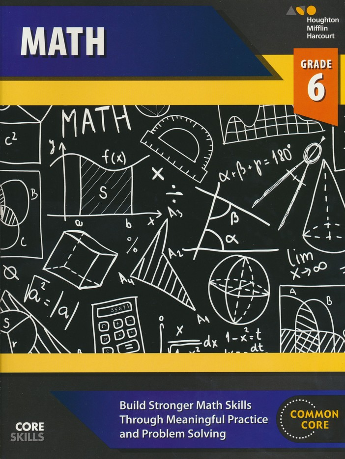 Steck Vaughn Core Skills Math Workbook Grade 6