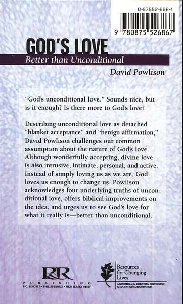 God's Love: Better Than Unconditional