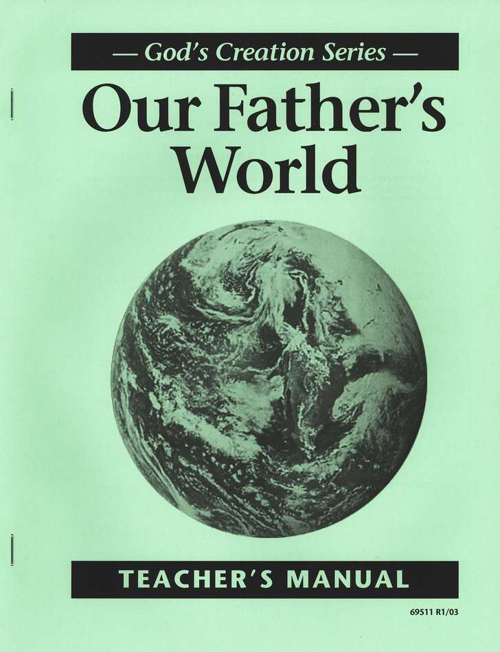 Our Fathers World Teacher's Manual, Grade 1