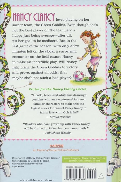 Nancy Clancy Soccer Mania Fancy Nancy