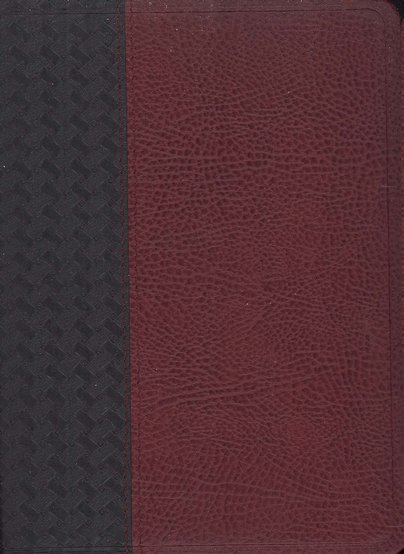KJV Old Scofield Pocket Bible Bonded Black & Burgundy