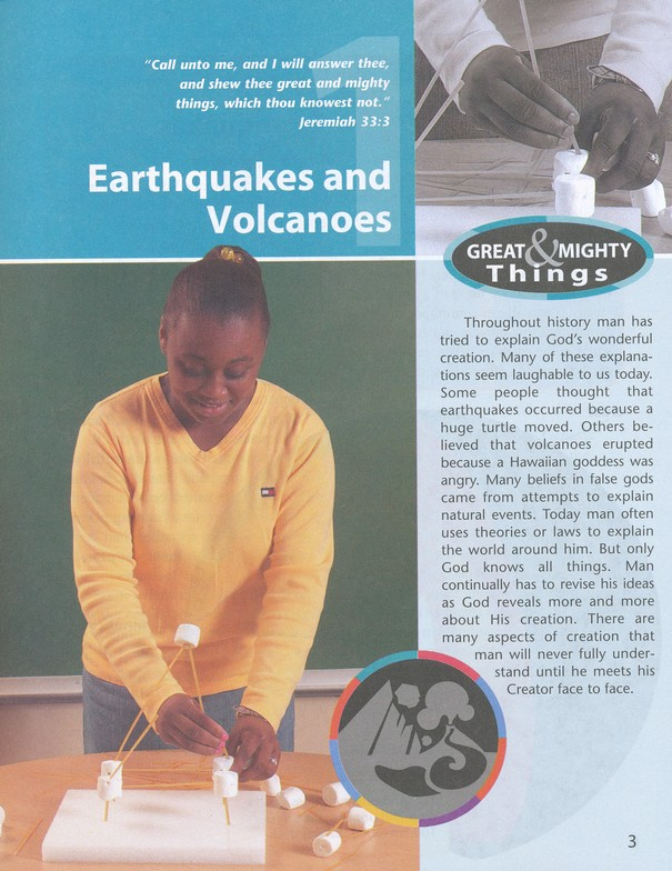 BJU Science Grade 6 Student Text (updated copyright), 3rd Edition