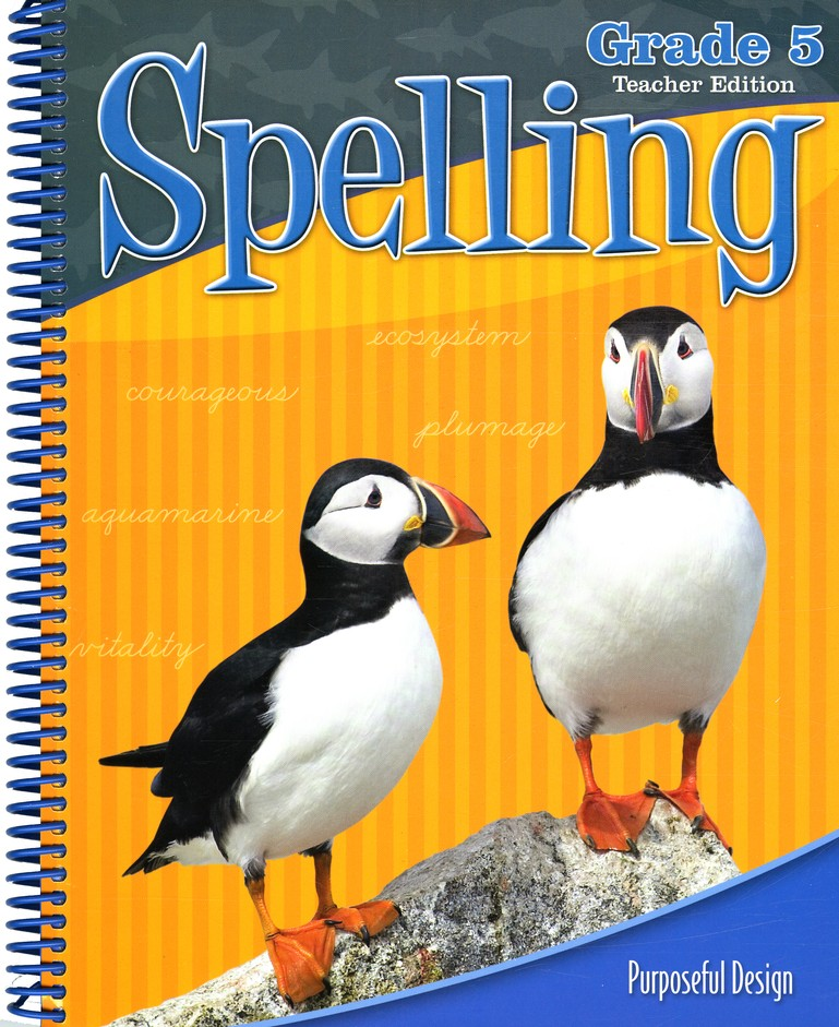 ACSI Spelling Grade 5 Teacher's Edition, Revised