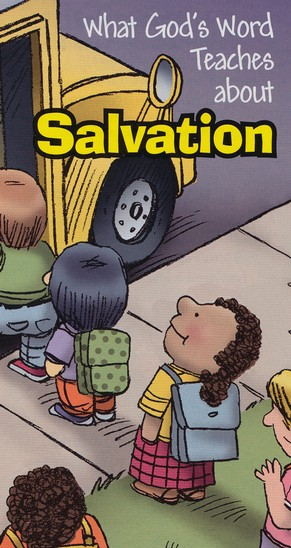 What God's Word Teaches About Salvation, pack of 50