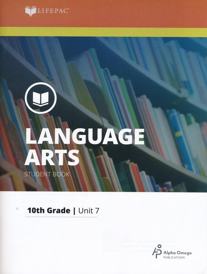 Lifepac Language Arts Grade 10 Unit 7: Oral Reading and Drama