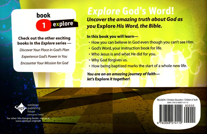 Uncover the Truth about God (Explore Student Book 1)