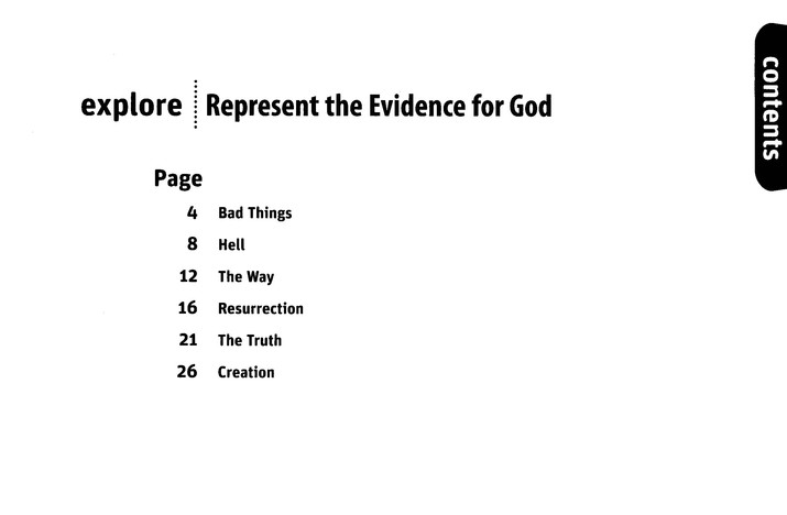 Represent the Evidence for God