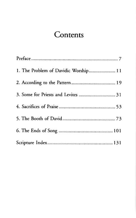 From Silence to Song: The Davidic Liturgical Revolution