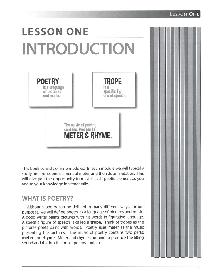 Grammar of Poetry, Updated Edition